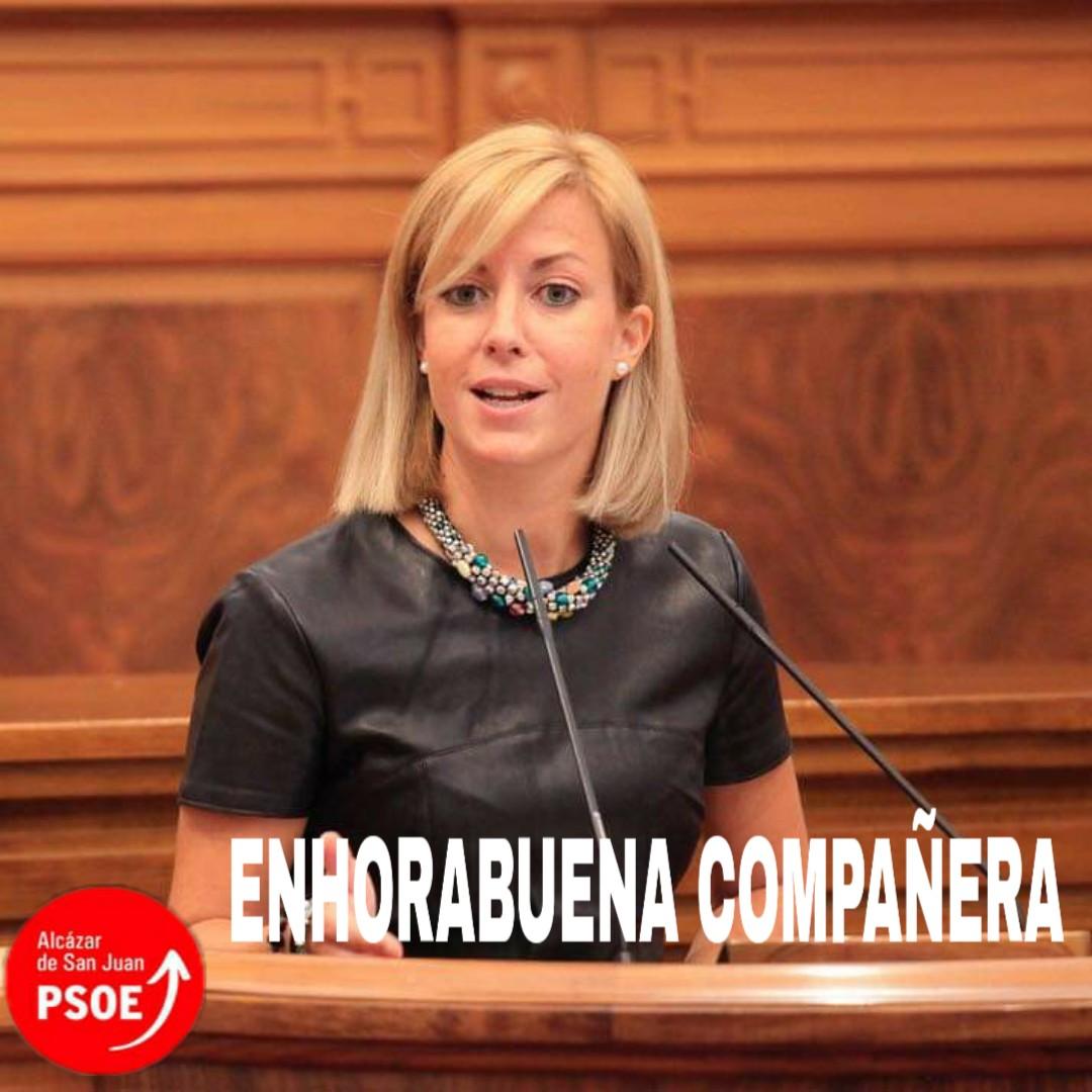 EL PSOE DE ALCÁZAR SATISFECHO POR LA ELECCIÓN DE ABENGOZAR COMO PORTAVOZ DEL GRUPO PARLAMENTARIO EN LAS CORTES DE CASTILLA LA MANCHA